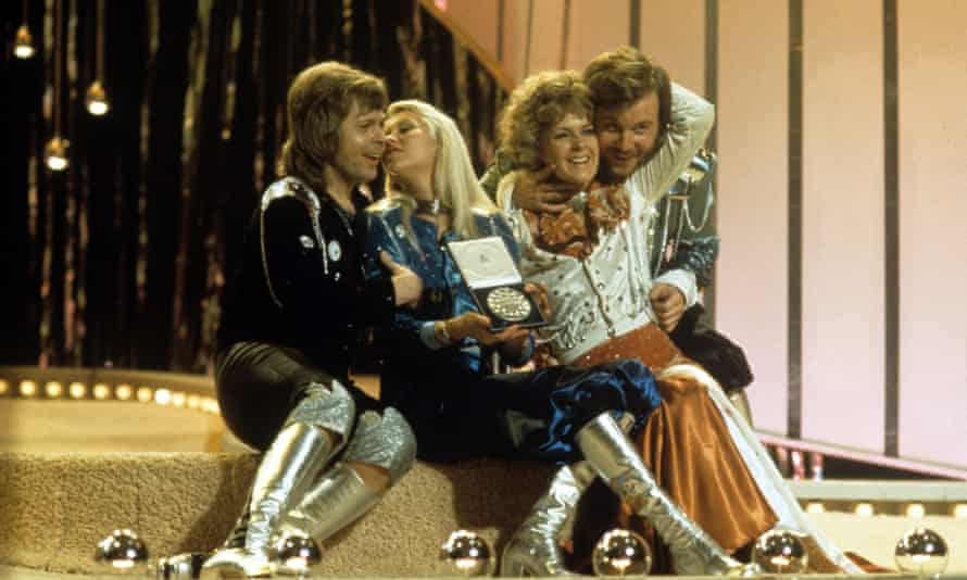 'We live in an era when the song fuels everything' ... Abba winning the Eurovision Song Contest in 1974.