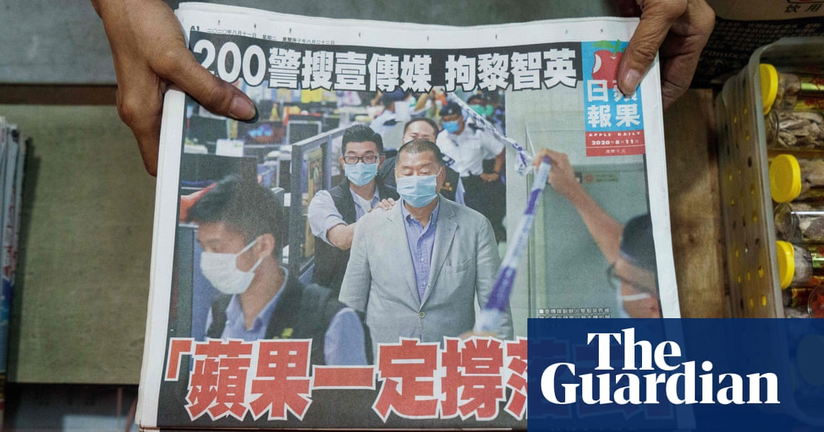 Hong Kong rallies around Apple Daily after arrest of founder Jimmy Lai