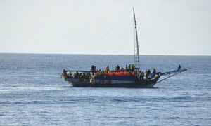 Asylum seeker boat