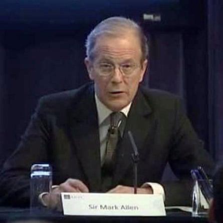 Sir Mark Allen.