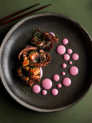 Food Stylist Award   Octopus Dots by Nicole Herft