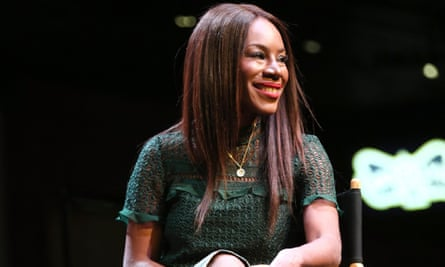 'It comes down to who they feel safe about in terms of flying the plane' … Amma Asante at the Women on Screen panel discussion on Sunday.