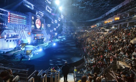 Counter-Strike: Global Offensive, a game deemed in contravention of Belgian gambling laws. (Photo from 2016's championship in Moscow.)