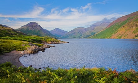 Wastwater and Wasdale Head in the English Lake District.