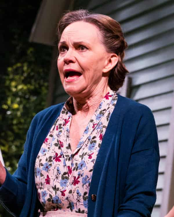 Nervy anxiety … Sally Field is superb as Kate Keller.