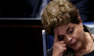 Dilma Rousseff: removed from office