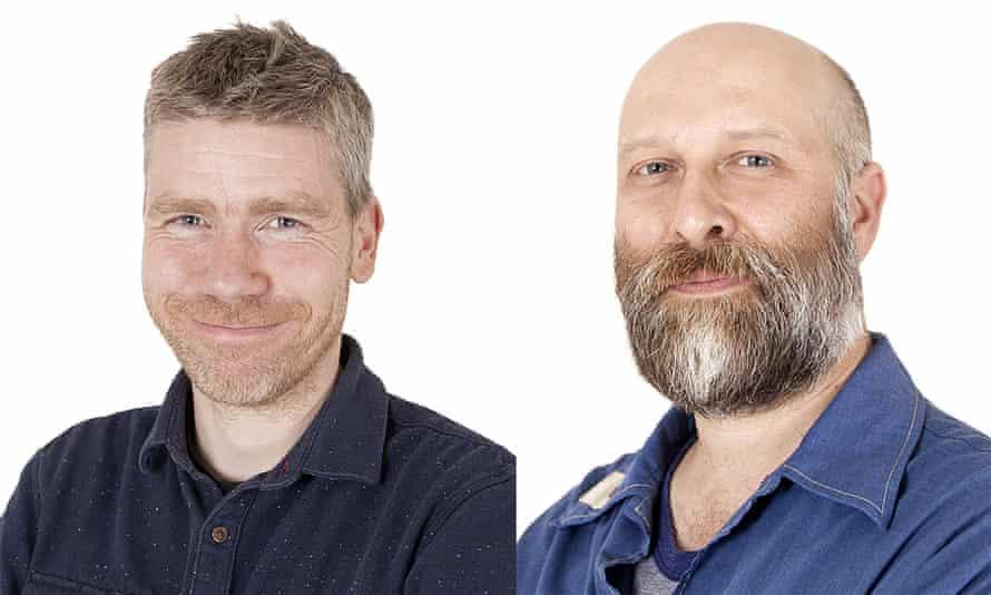 Adam Frost (left) and Tobias Sturt
