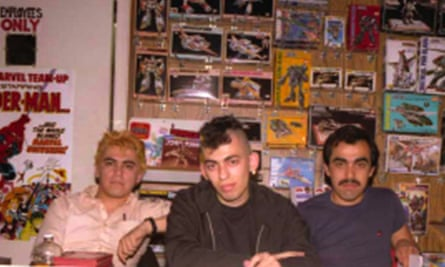 Gilbert, Jaime and Mario in the early days.
