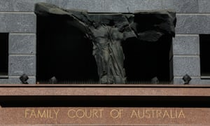 The Family Law Court of Australia in Sydney. 'Hanson has demanded the abolition of the family court since her political arrival in 1996'