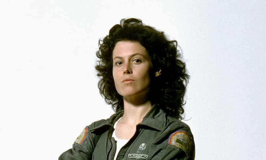 Sigourney Weaver as Ripley in Alien.