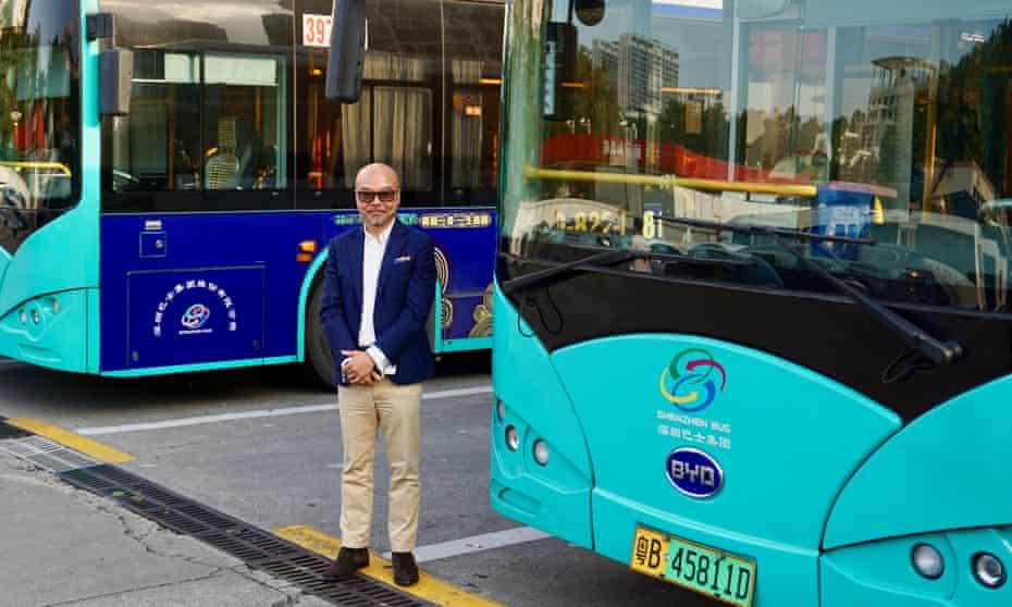Shenzhen Bus Company deputy general manager Joseph Ma.