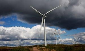 Whitelee, the UK's largest onshore windfarm