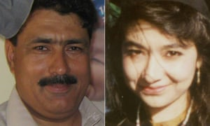 Dr Shakil Afridi, left, who helped the US track down Osama bin Laden, and Dr Aafia Siddiqui who was allegedly tortured at Bagram airbase in Afghanistan.