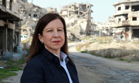 'A good reporter getting on with telling a vile story': Lyse Doucet in Syria: The World's War.