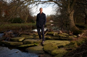 Mark Foster, the ex World Champion and Olympic swimmer, poses for a portrait near his home