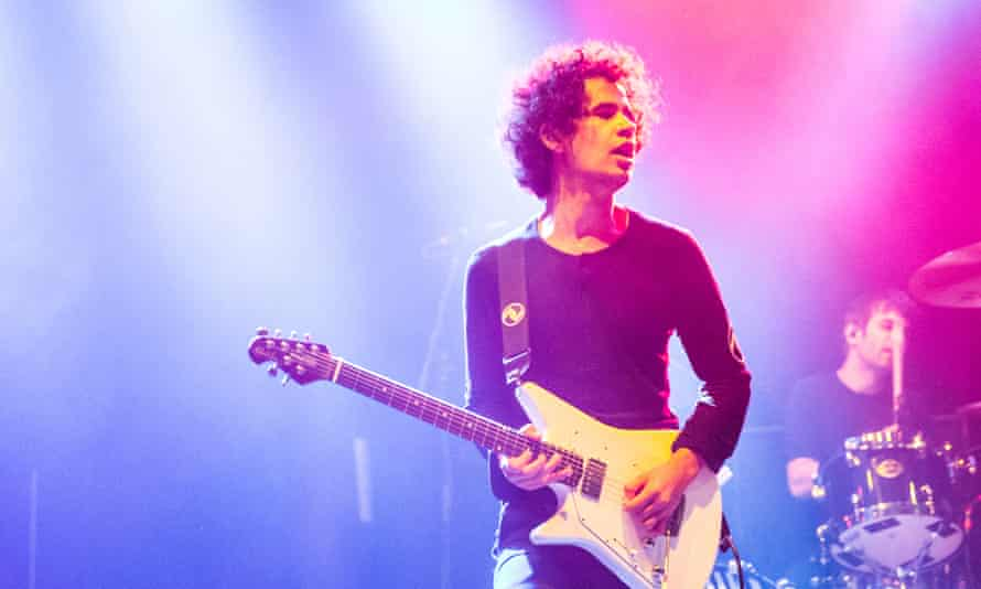 Cedric Bixler-Zavala of At the Drive-In performs at the Roundhouse, London.