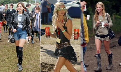 cedc61a3d Festival fashion is stuck in the era of Kate Moss v Sienna Miller – with  one exception
