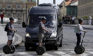 Prague's compact historical centre make the city ideal for Segway tours.