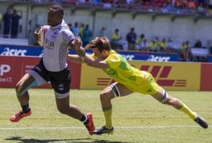 Australia v Fiji, men's quarter final