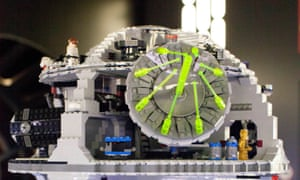 Lego Star's Wars Death Star set: now costs more than £400.