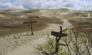 Curonian Spit on the Lithuania coastal Cycle.