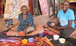 Wawiriya Burton with Narelda Ken