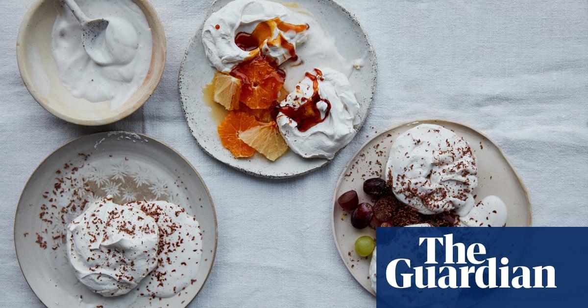 Anna Jones' vegan recipes for aquafaba meringues and pancakes