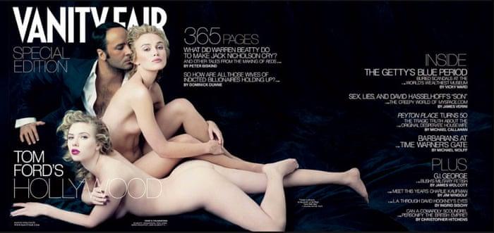 Scarlett johansson naked vanity fair — 5