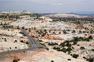 Utah's Highway 12 cuts through the Grand Staircase-Escalante national monument.