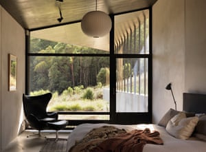 Interiors of Hanging Rock by Kerstin Thompson Architects.