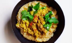 Spice of life: Nigel's spiced lentil soup.