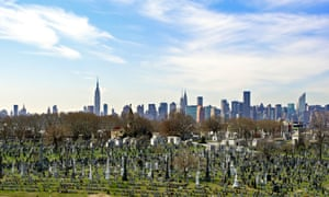 Calvary Cemetery in Queens. Plots in many of New York's cemeteries are increasingly rare – and expensive.