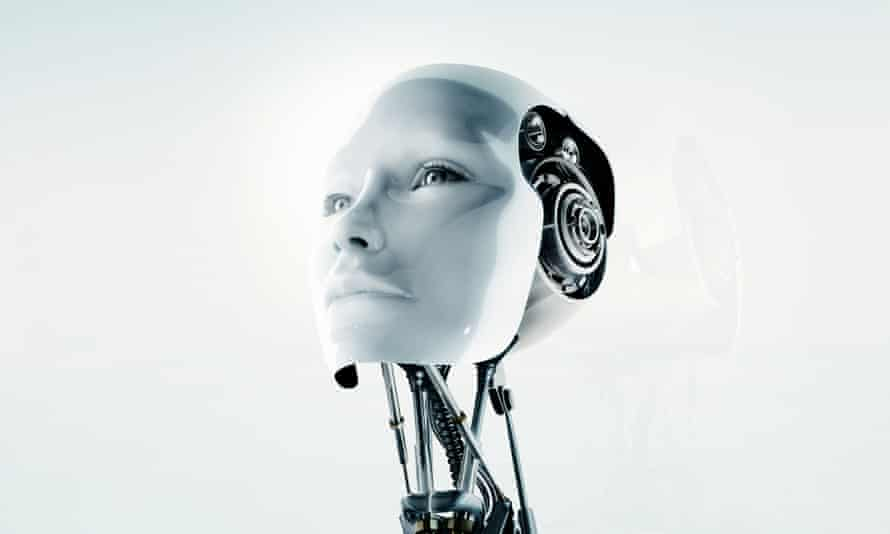 A conceptual futuristic female robot. Toyota is investing $1bn in artificial intelligence and robotics in Silicon Valley.