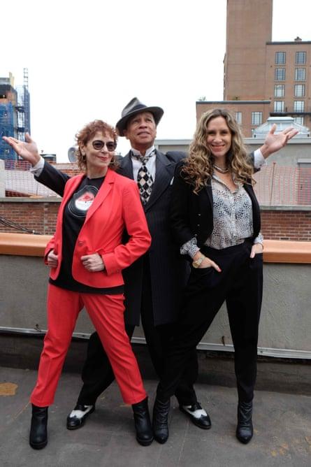 I'm a wonderful thing, baby: Vivien Goldman, Kid Creole and executive producer Eva Tudor-Jones