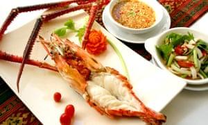 Seafood dish at The Local, Bangkok.