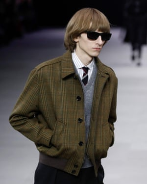Part of Celine's menswear collection.