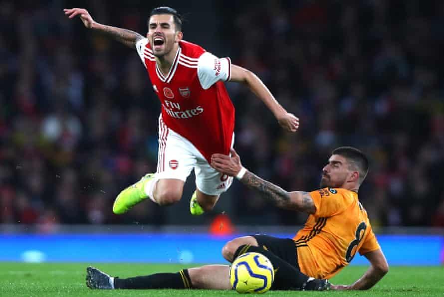 Dani Ceballos is yet to settle in the Premier League.