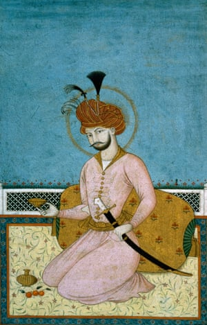 Portrait of Shah Abbas, Iran, 17th century, who was the 5th Safavid Shah. The Safavids descended from Sheikh Safi, a Sufi who had died in 1334.