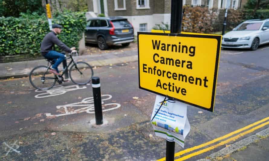 Low-traffic neighbourhood in London.