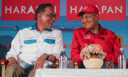 Anwar Ibrahim was once the protege of Malaysian prime minister Mahathir Mohamad before their relationship soured.