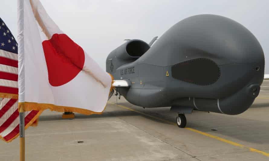 A Global Hawk surveillance drone