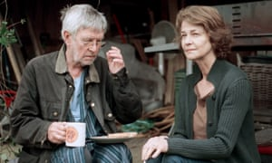 Tom Courtenay and Charlotte Rampling in 45 Years, based on a story by David Constantine.