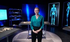 Secret histories ... Tori Herridge in Bone Detectives.