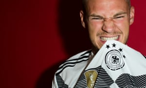 Joshua Kimmich is preparing for his first World Cup with Germany, who face Mexico on Sunday.