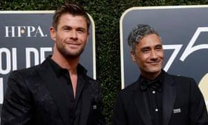 Waititi has already saved Thor from a fate worse than Ragnarok ... Chris Hemsworth and Taika Waititi.