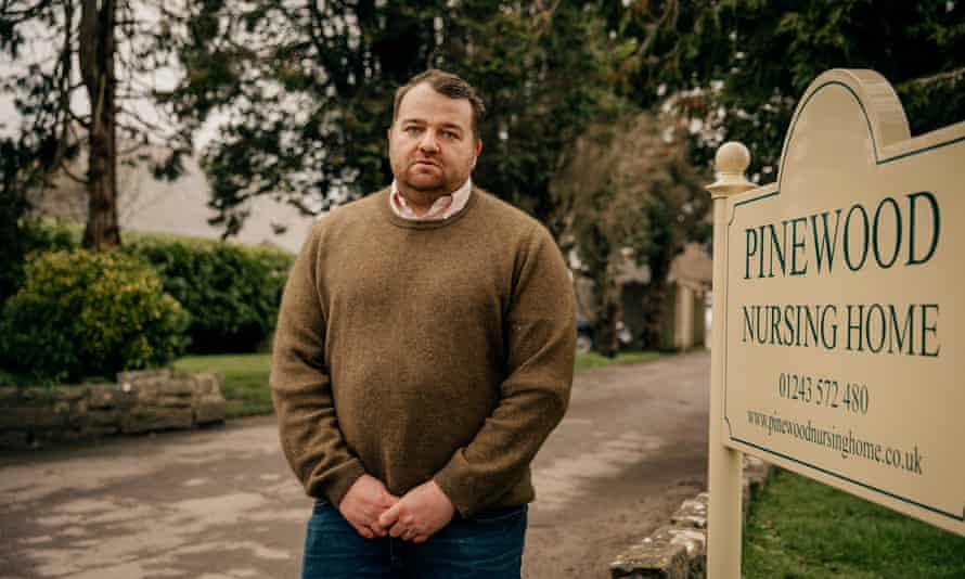 Lawrence Marsh, the owner of Pinewood nursing home: 'It has been heartbreaking.'