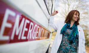 Dispensing poetry on prescription ... the Emergency Poet, Deborah Alma.