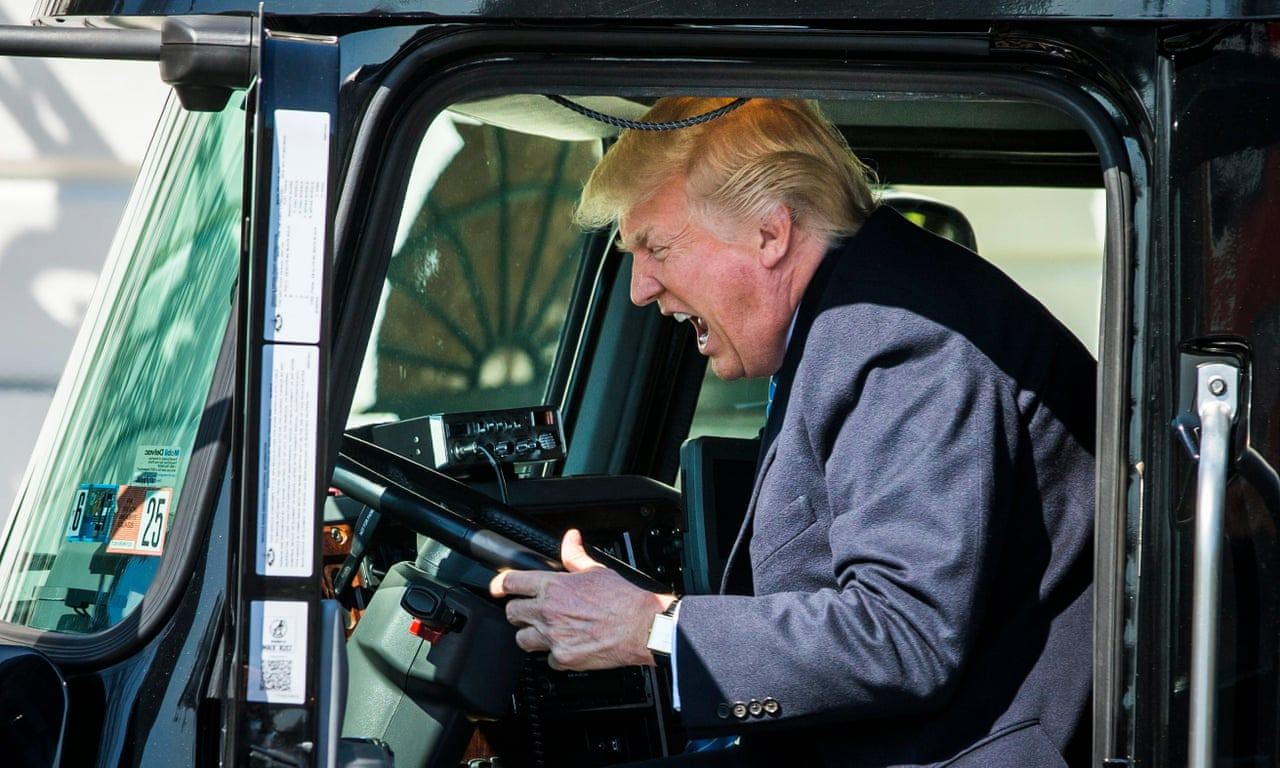 Image result for trump truck
