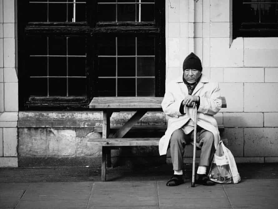 Man in Camden Town by Nicholas Goodden