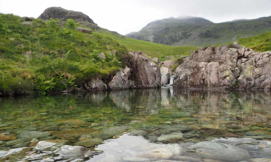 A perfect wild pool in upper Eskdale